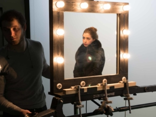 Съемка рекламного ролика о косметике фото
