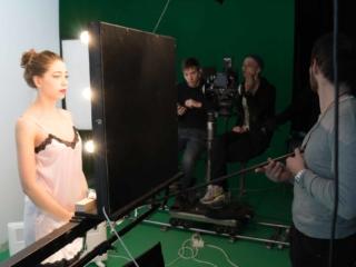 Съемка видеоролика для косметической компании