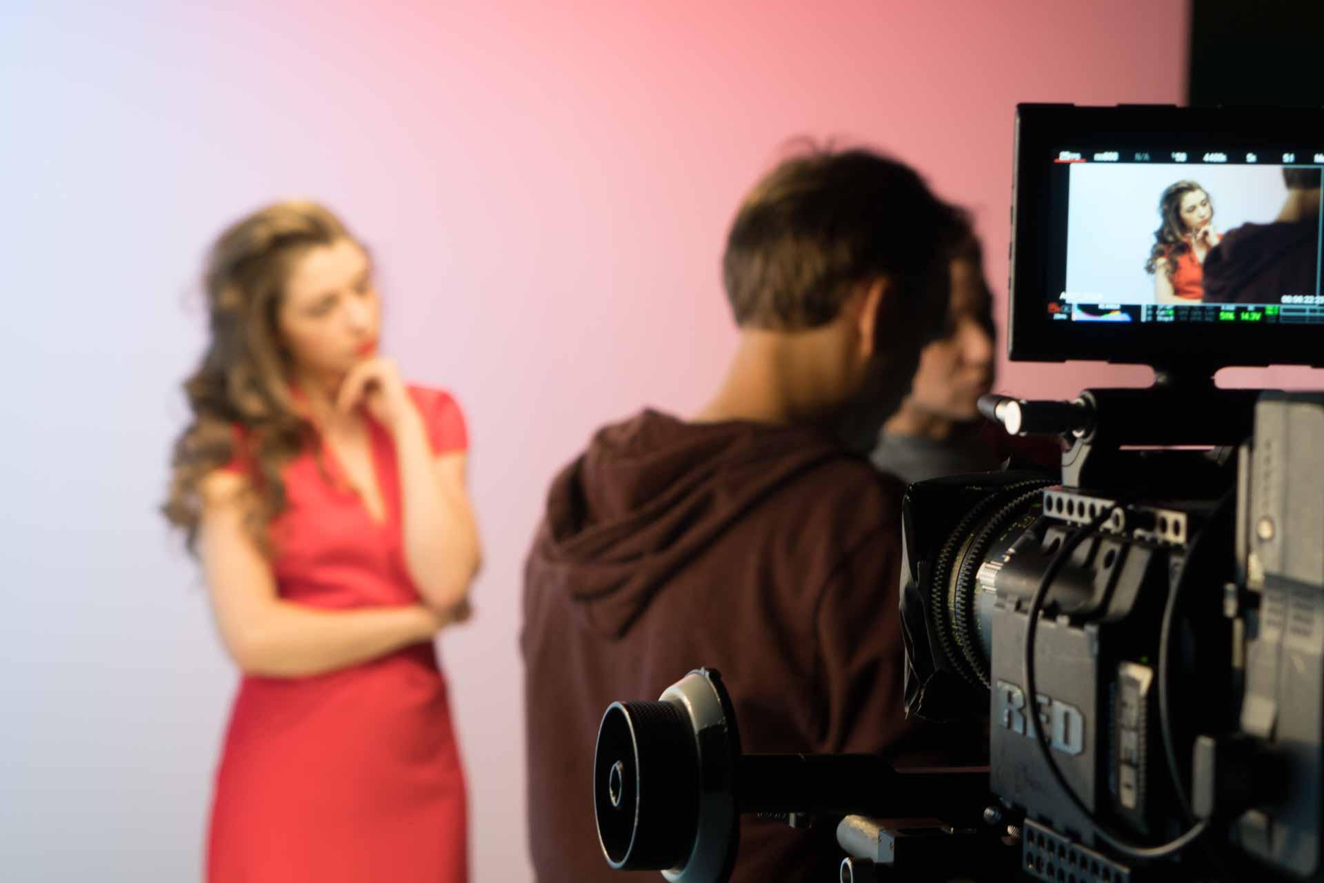 Процесс съемки рекламного ролика для Joy by Joy