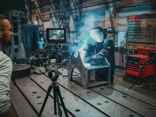 Съемки видеоролика о заводе фото